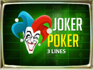 Joker Poker 3 Lines